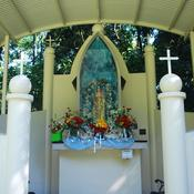The statue of Our Lady of Good Health, Vailankanni