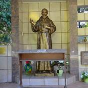 The Statue of Padre Pio.