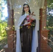 The statue of St. Therese of the Child Jesus