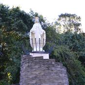 Our Lady of Lebanon statue
